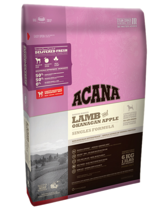 Acana Lamb & Okanagan Apple Dog Food