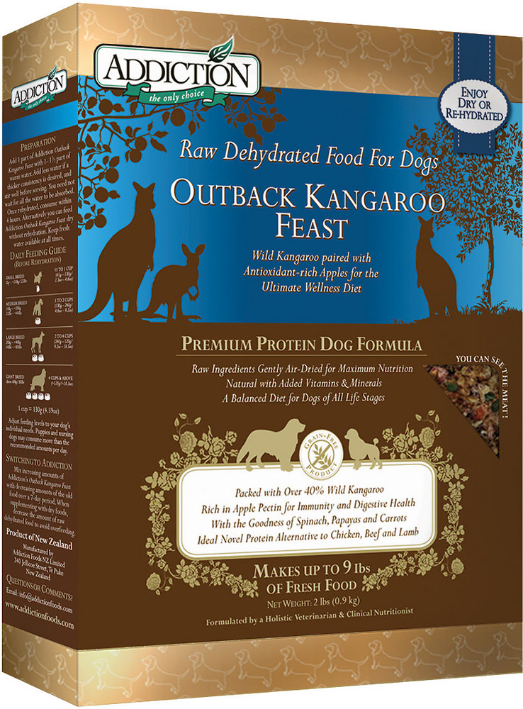 Addiction Holistic Raw Dehydrated Dog Food