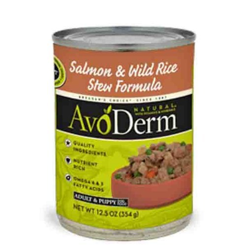 AvoDerm Canned Stew Dog Food