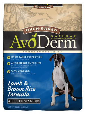 AvoDerm Oven-Baked  Dog Food
