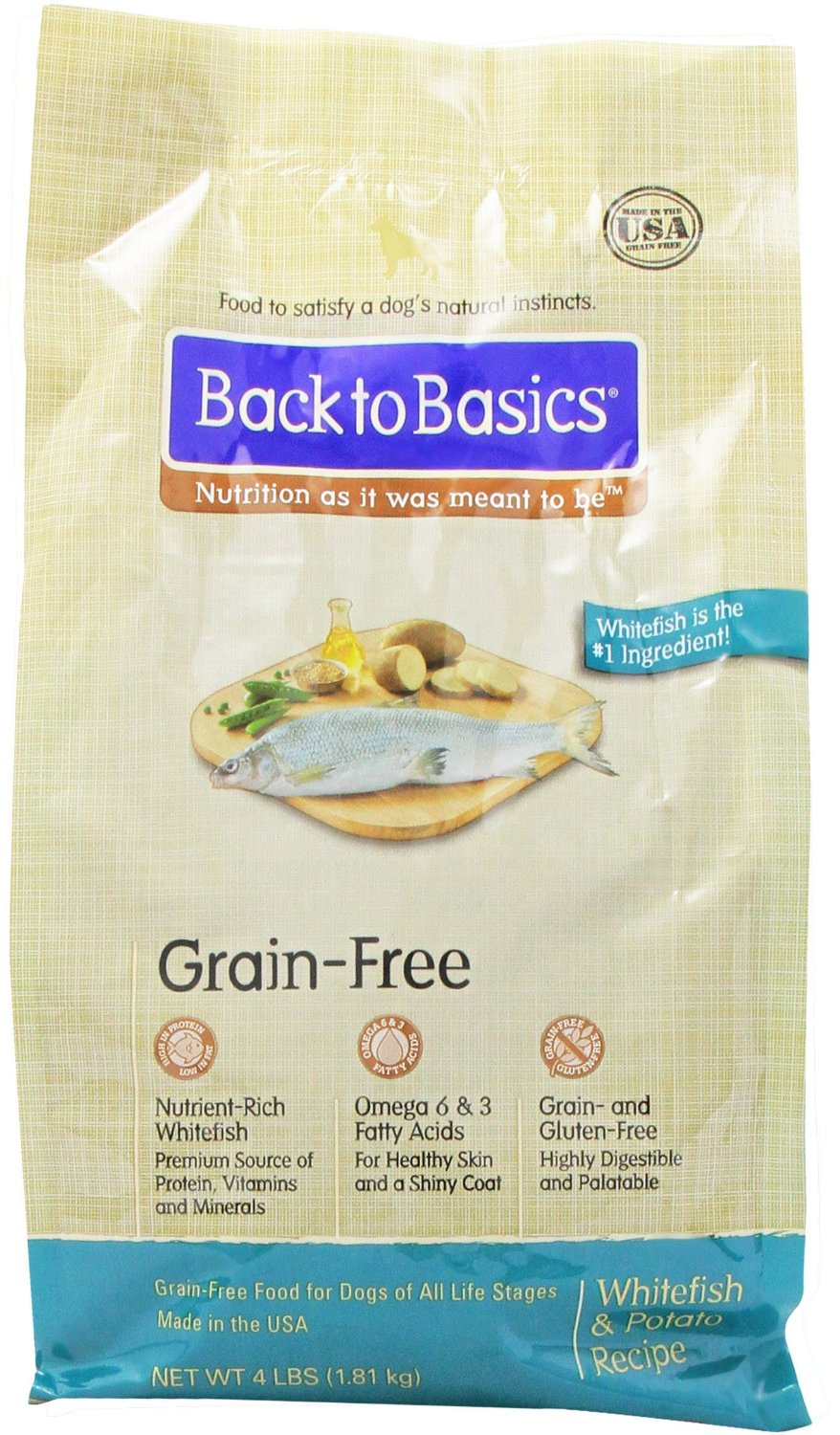 Back to Basics Grain Free Dog Food