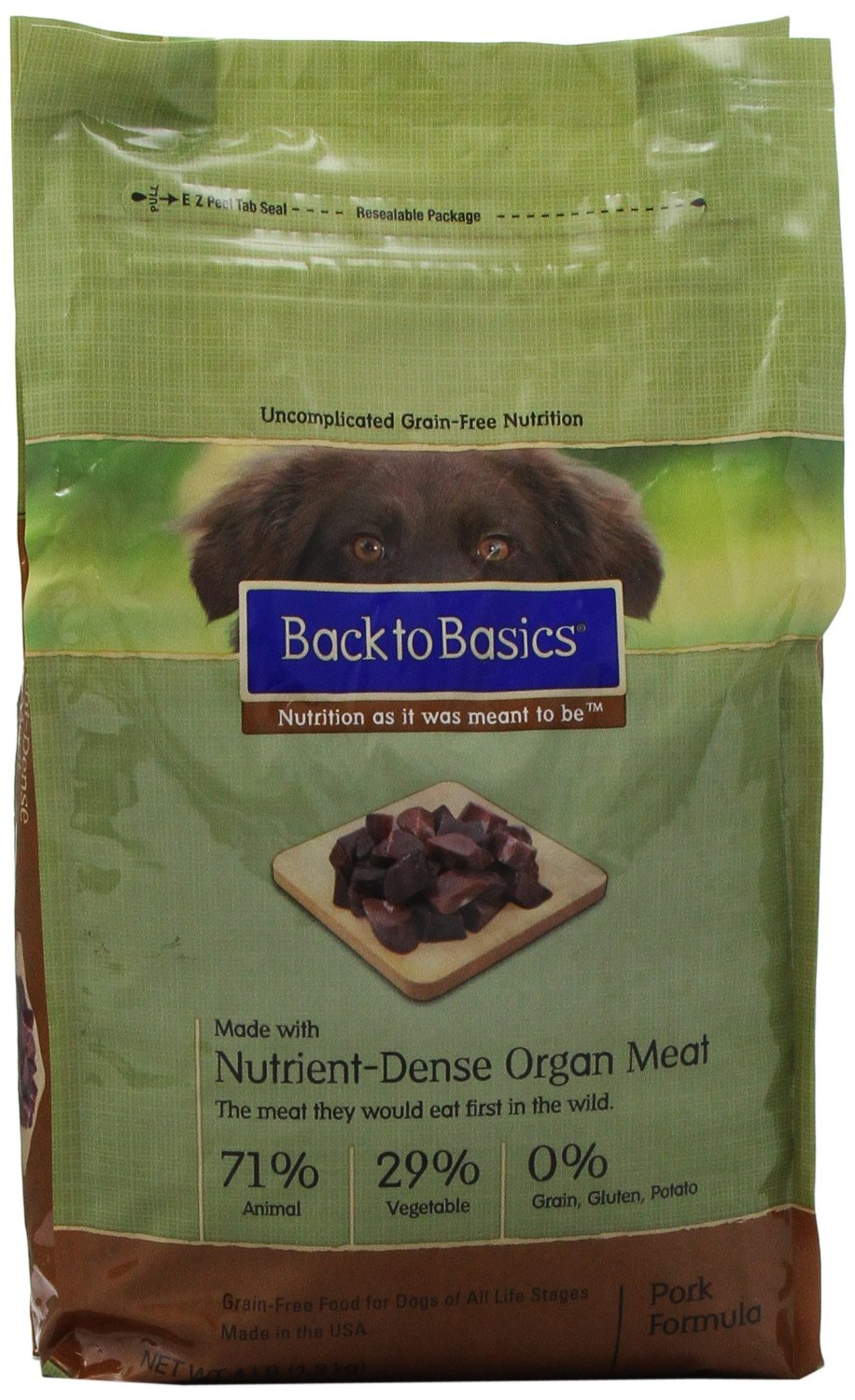 Back to Basics High Protein Dog Food