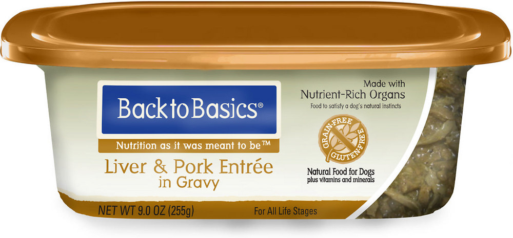 Back to Basics Pork Wet  Dog Food