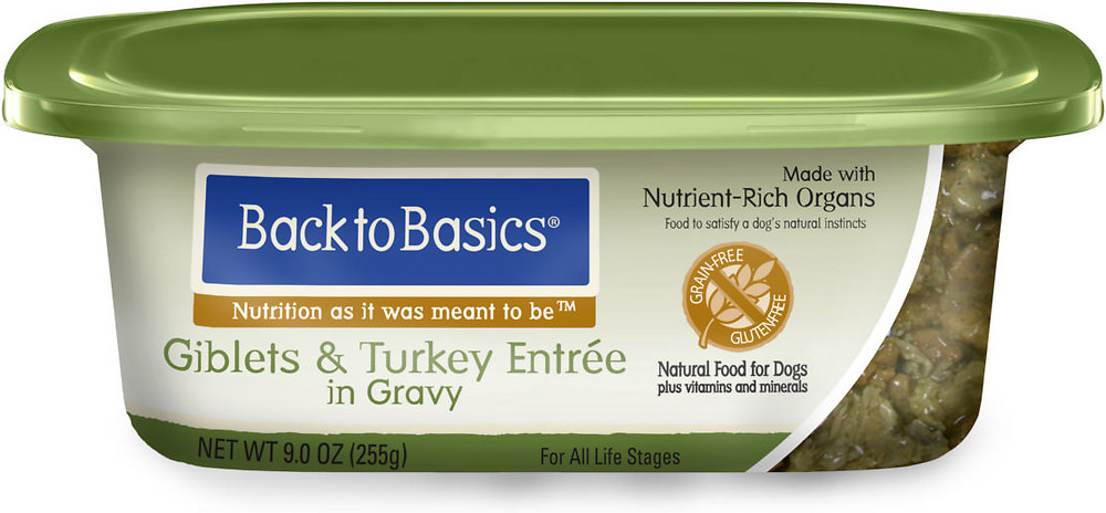 Back to Basics Turkey Wet  Dog Food