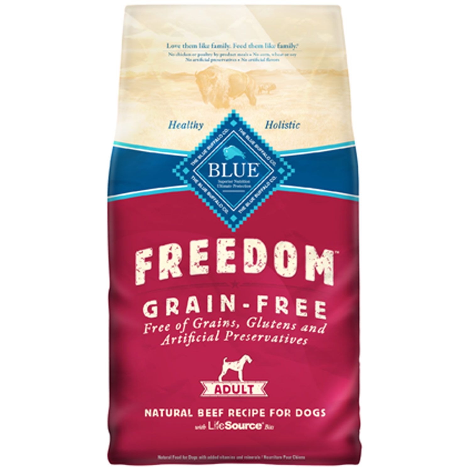 Blue Buffalo Beef Dog Food