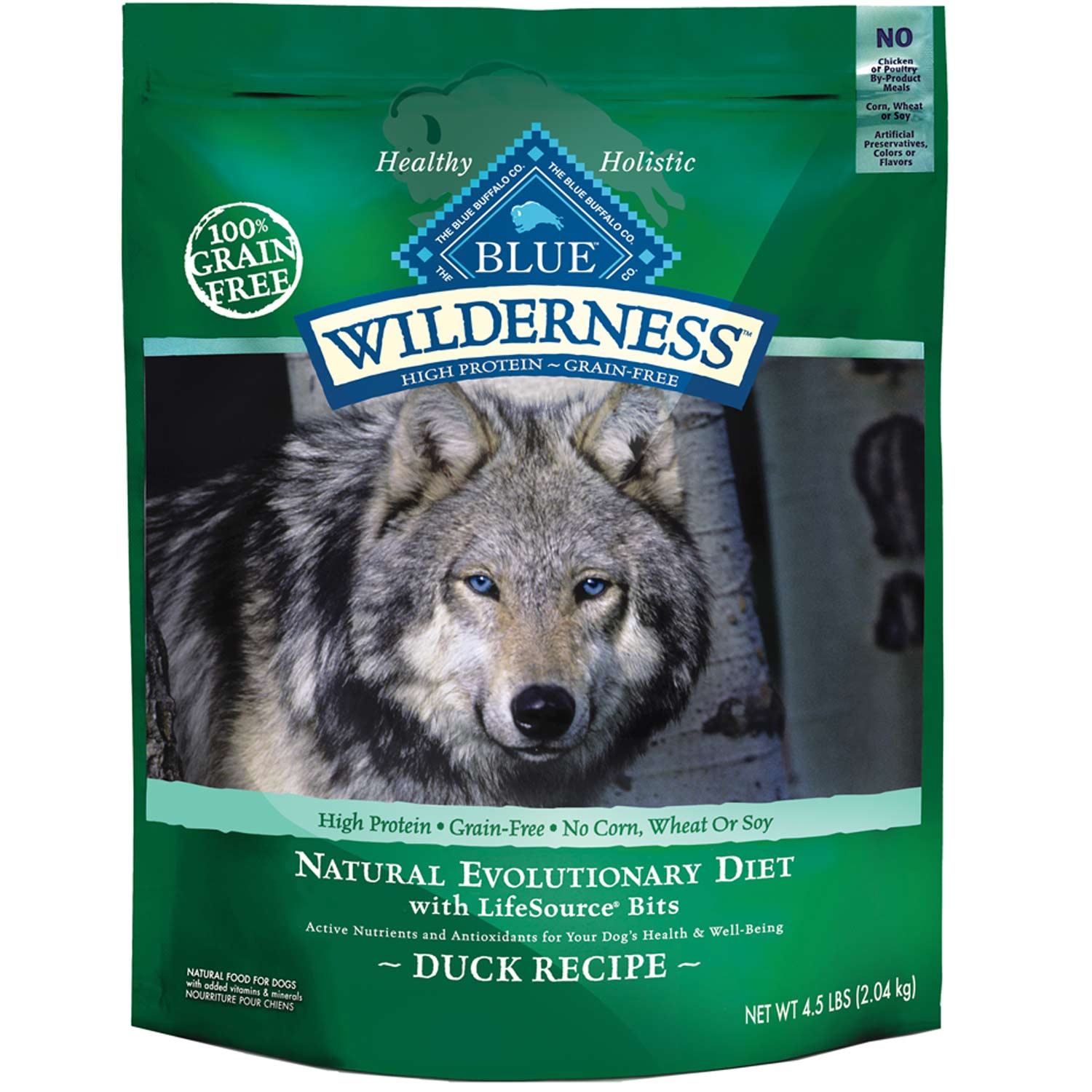 Blue Buffalo Duck Dog Food
