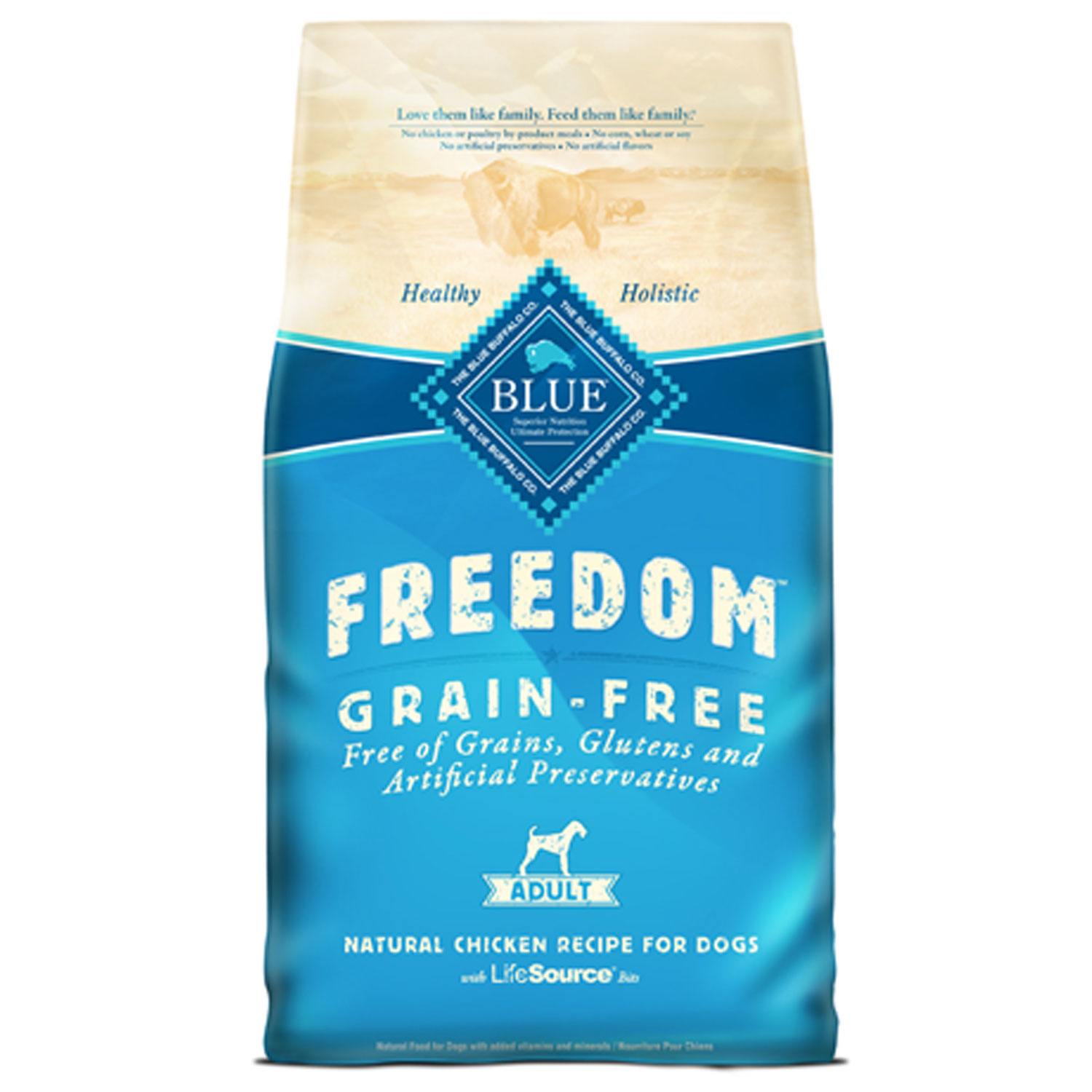 Freedom Blue Grain Free Dog Food