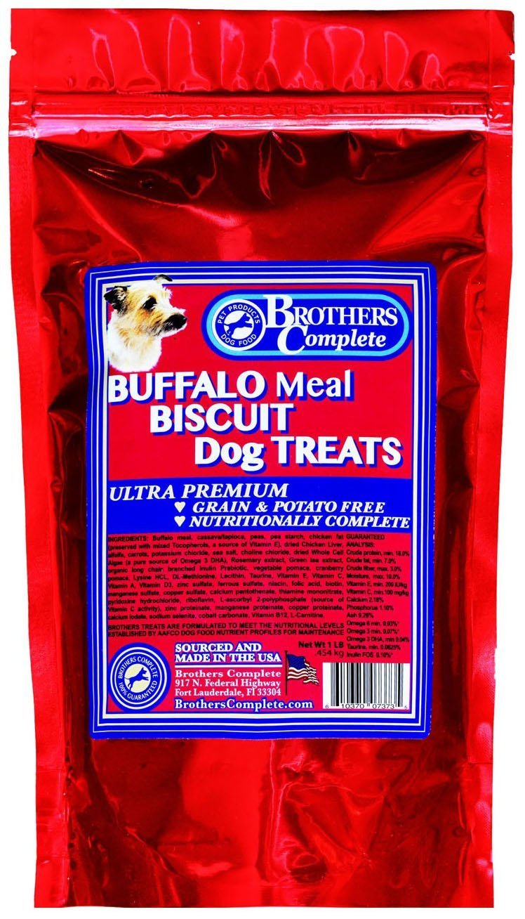 Brothers Complete Buffalo Biscuit Dog Treats
