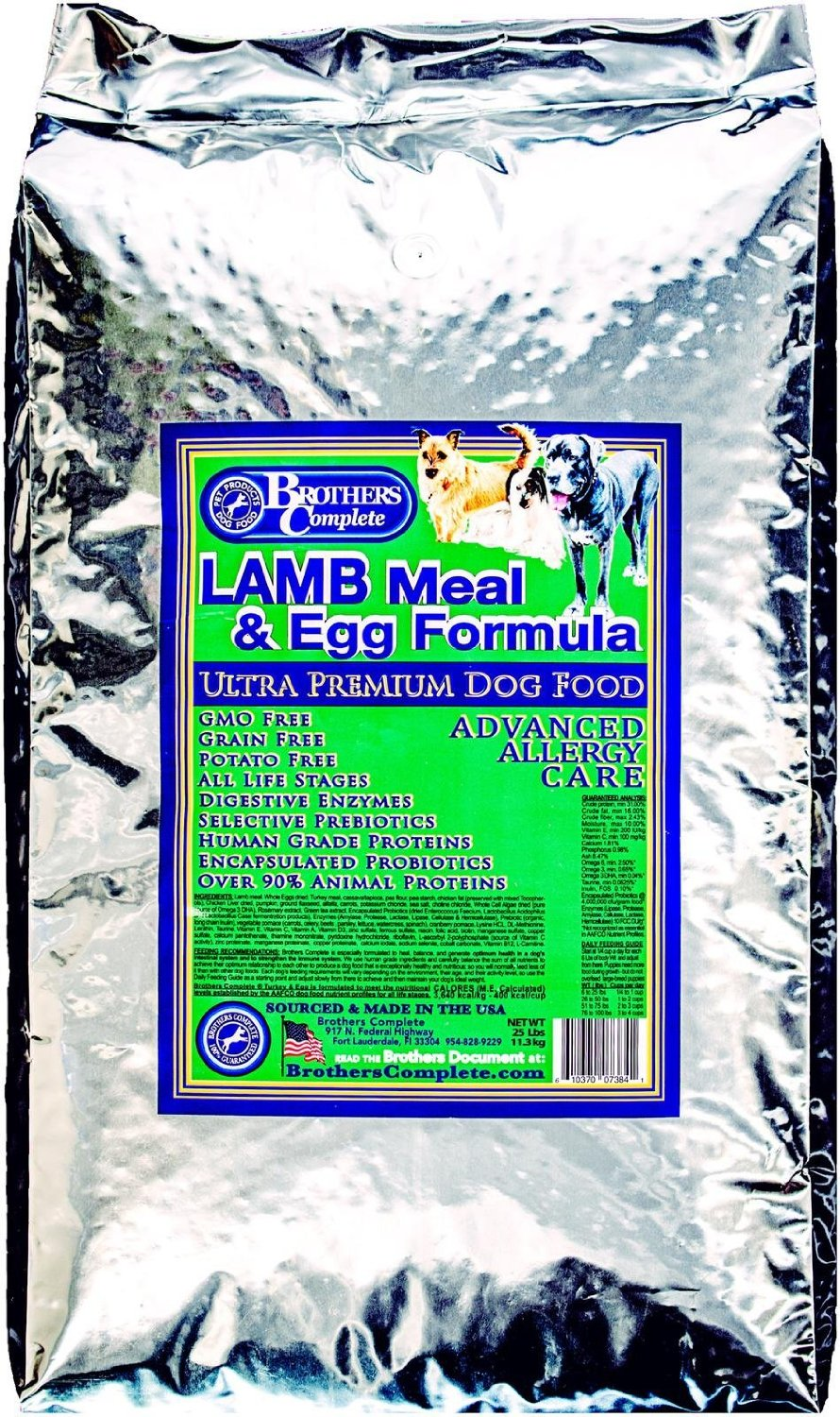 Brothers Complete Lamb Meal & Egg Dog Food
