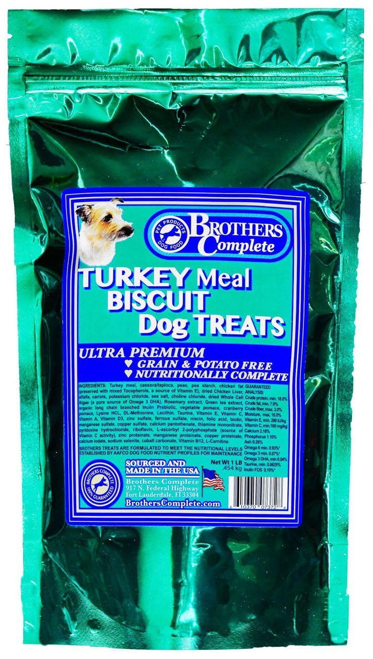 Brothers Complete Turkey Biscuit Dog Treats