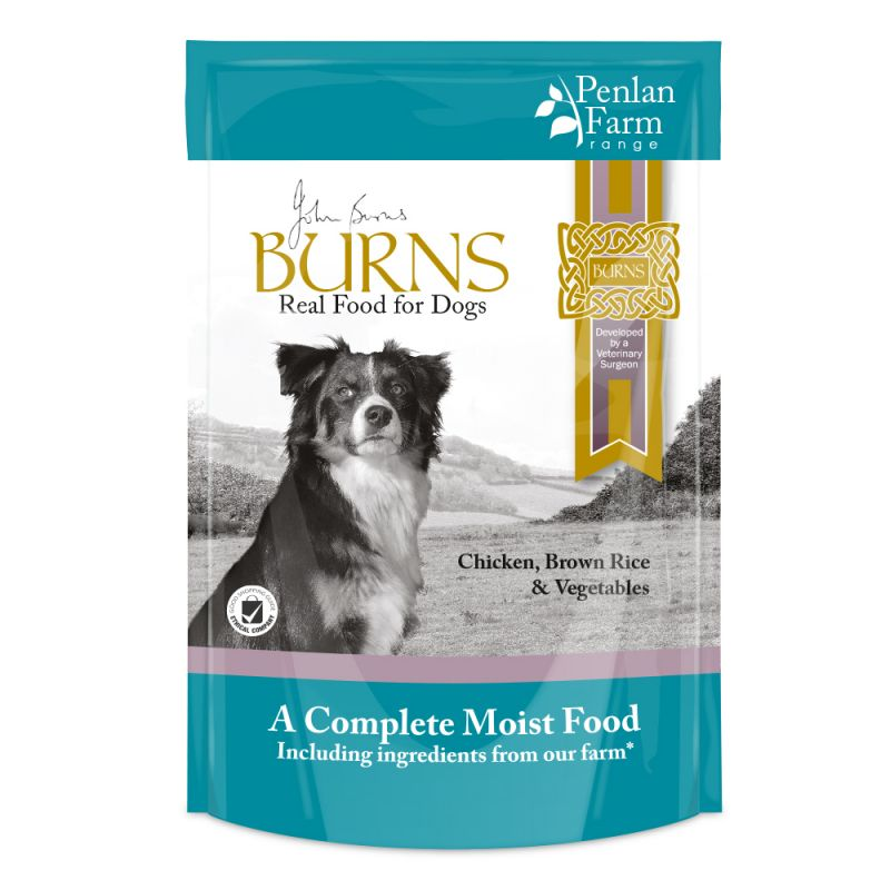 Burns Chicken, Brown Rice & Vegetables Dog Food