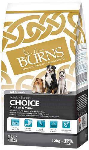 Burns Choice Chicken & Maize Dog Food