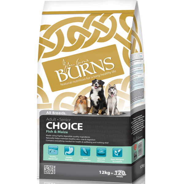 Burns Choice Fish & Maize Dog Food