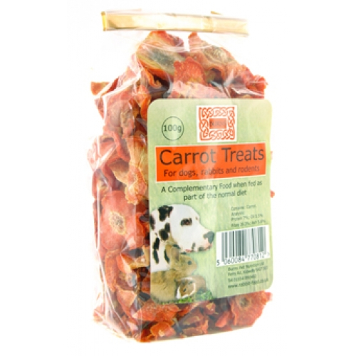 Burns Dog Carrot Treats