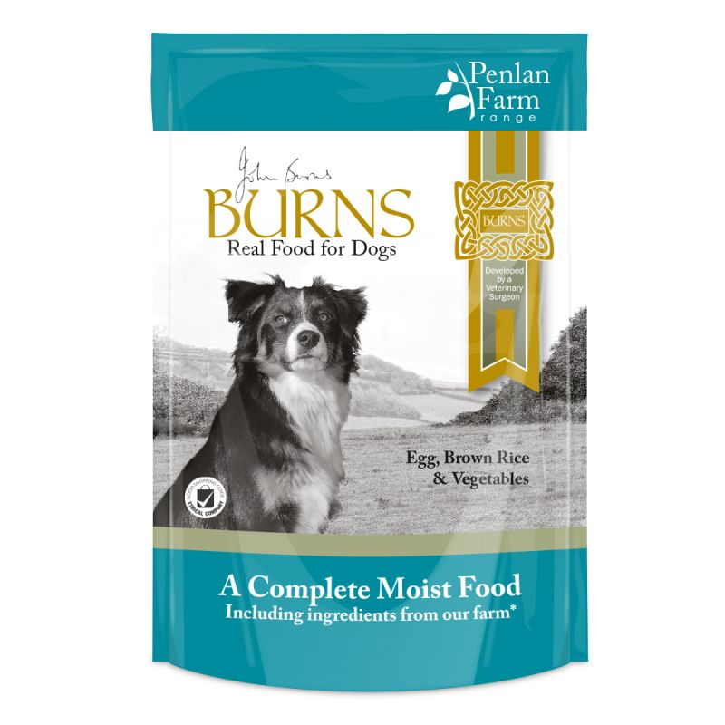 Burns Egg, Brown Rice & Vegetables Dog Food