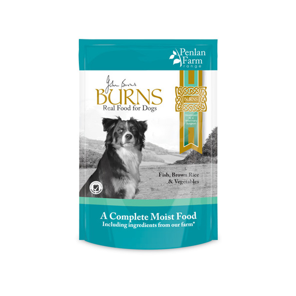 Burns Fish, Brown Rice & Vegetables Dog Food