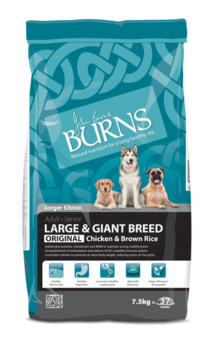 Burns Large Breed Chicken & Brown Rice Dog Food