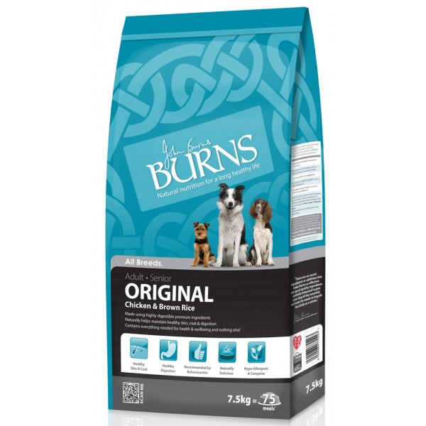 Burns Original Chicken & Brown Rice Dog Food