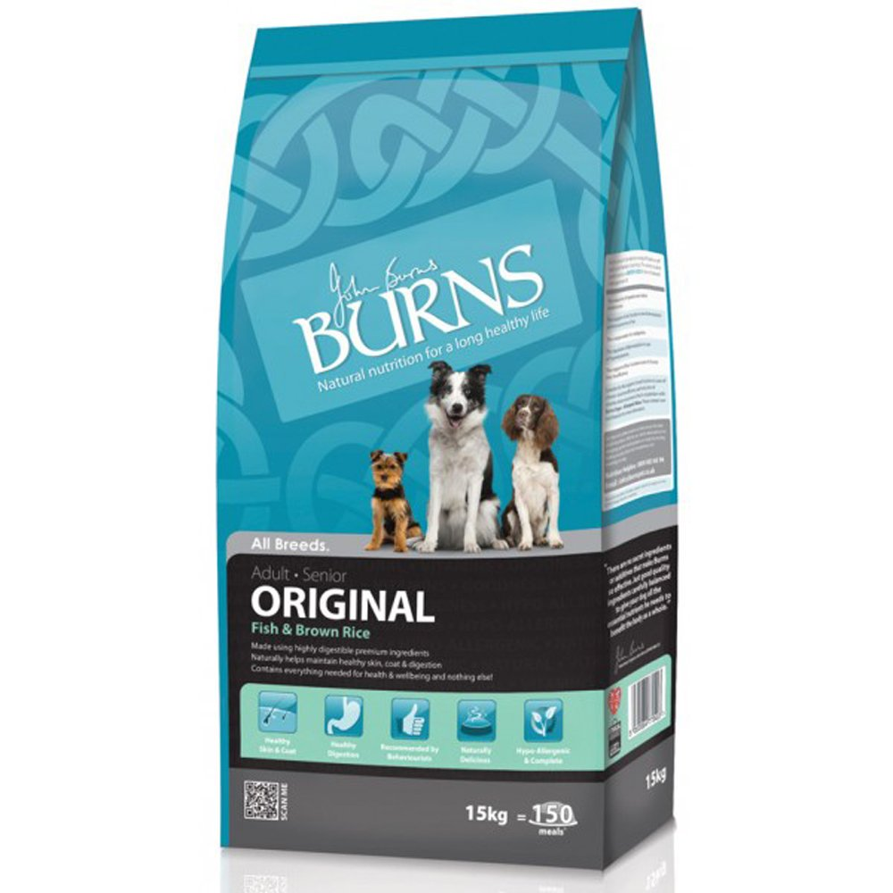 Burns Original Fish & Brown Rice Dog Food