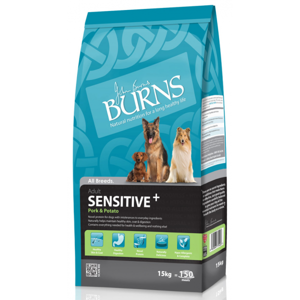 Burns Sensitive Pork & Potato Dog Food