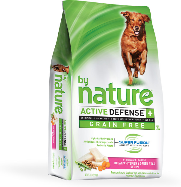By Nature Ocean Whitefish & Green Peas Grain Free Dog Food