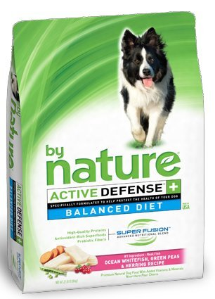 By Nature Ocean Whitefish, Green Peas & Herring Dog Food