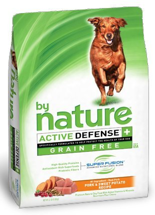 By Nature Pork & Sweet Potato Grain Free Dog Food