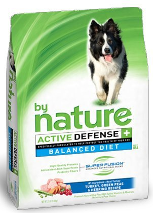 By Nature Turkey, Green Peas & Herring Dog Food
