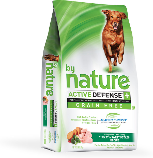 By Nature Turkey & Sweet Potato Grain Free Dog Food