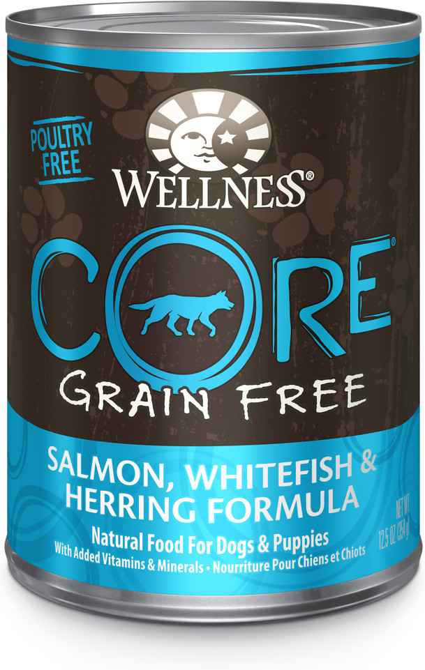 CORE Grain-Free Salmon, Whitefish & Herring Formula