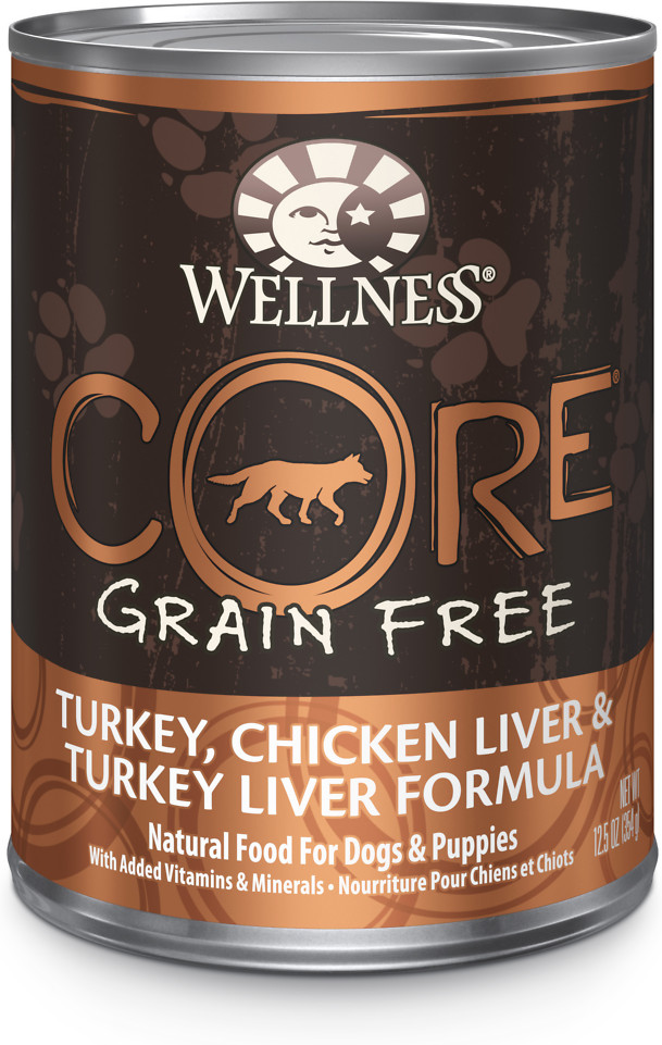 CORE Grain-Free Turkey, Chicken Liver & Turkey Liver Formula