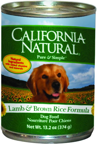 California Natural Canned Dog Food