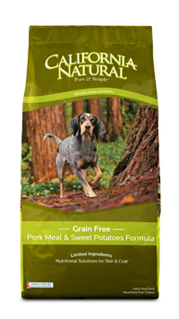 California Natural Pork Dog Food