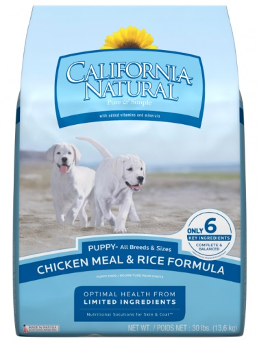 California Natural Puppy Dog Food