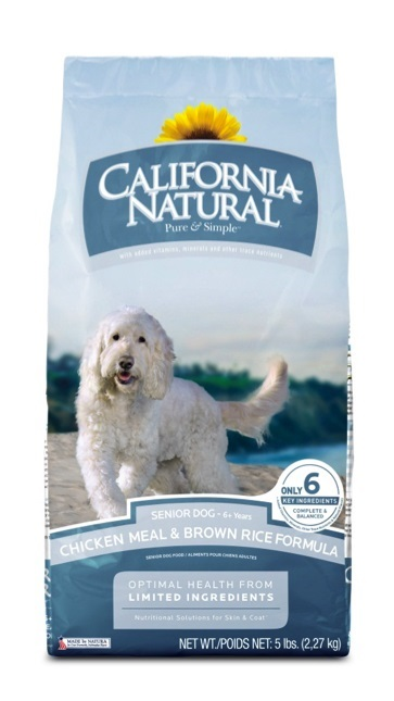 California Natural Senior Dog Food