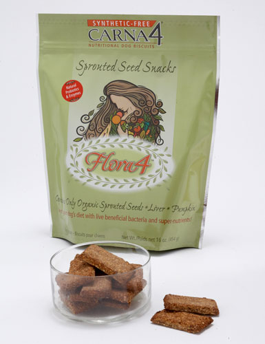 Carna4 Flora4 Sprouted Seed Snacks