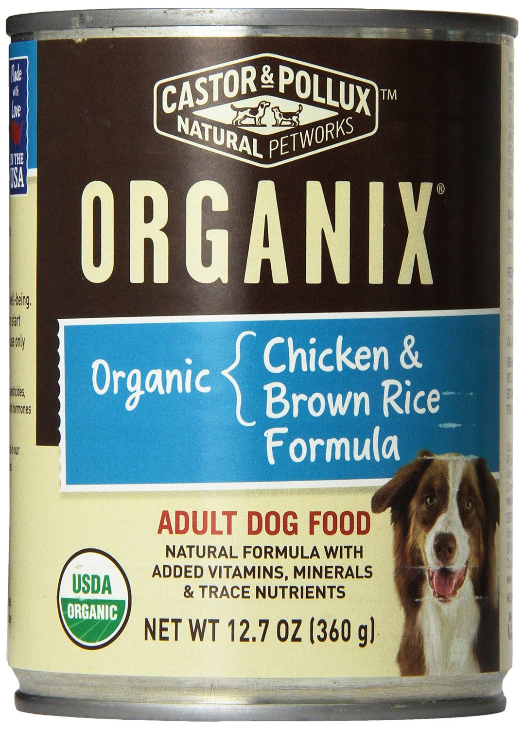 Castor & Pollux Organix Canned Dog Food