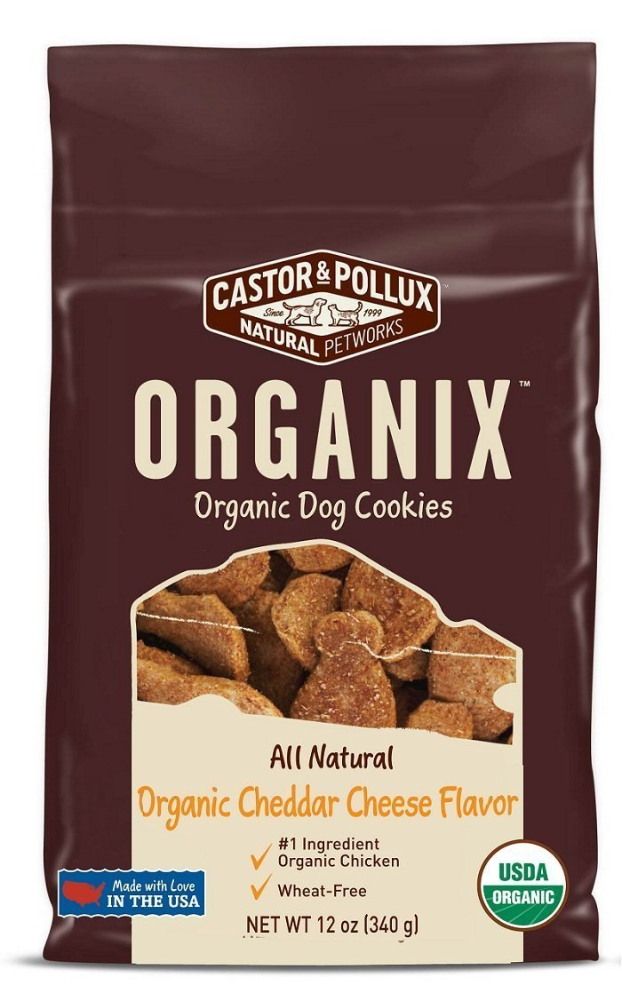 Castor & Pollux Organix Cheese Dog Food