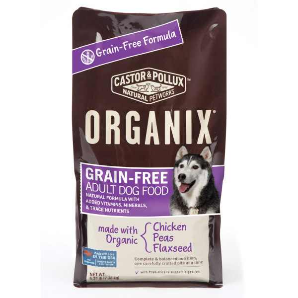 Castor & Pollux Organix Grain-Free Dog Food