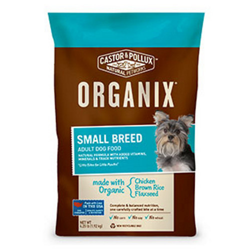 Castor & Pollux Organix Indoor Dog Food