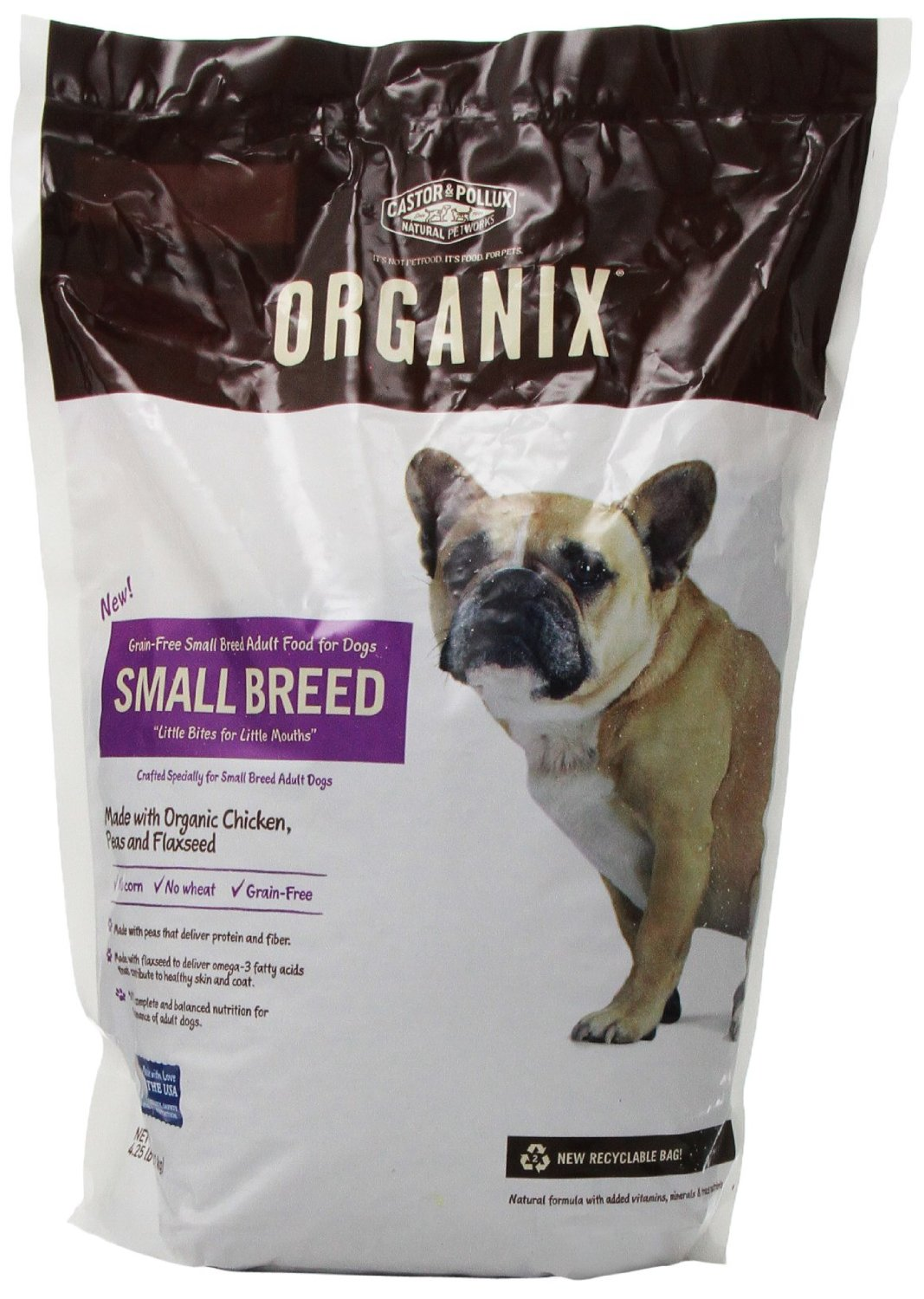 Castor & Pollux Organix Skin & Coat Dog Food