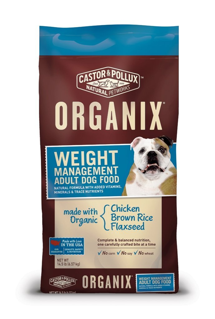 Castor & Pollux Organix Weight Management Dog Food