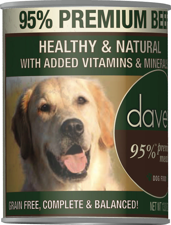 Dave's Pet Food 95% Premium Dog Food