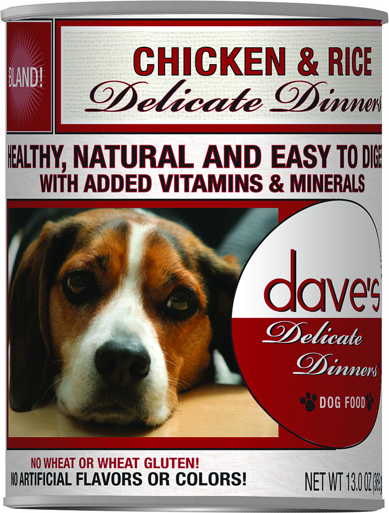 Dave's Pet Food Delicate Dinners Dog Food