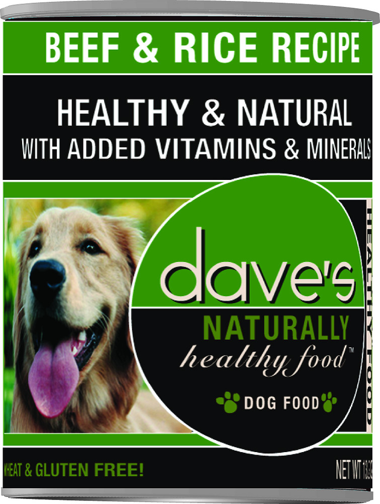 Dave's Pet Food Naturally Healthy Dog Food