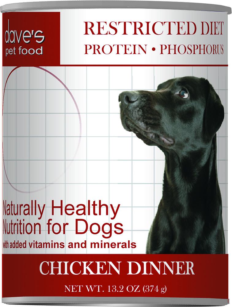 Dave's Pet Food Restricted Diet Dog Food