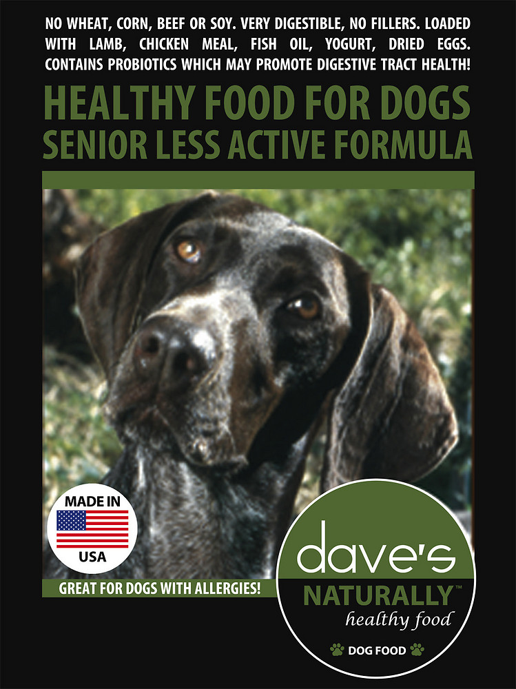 Dave's Pet Food Senior Dog Food