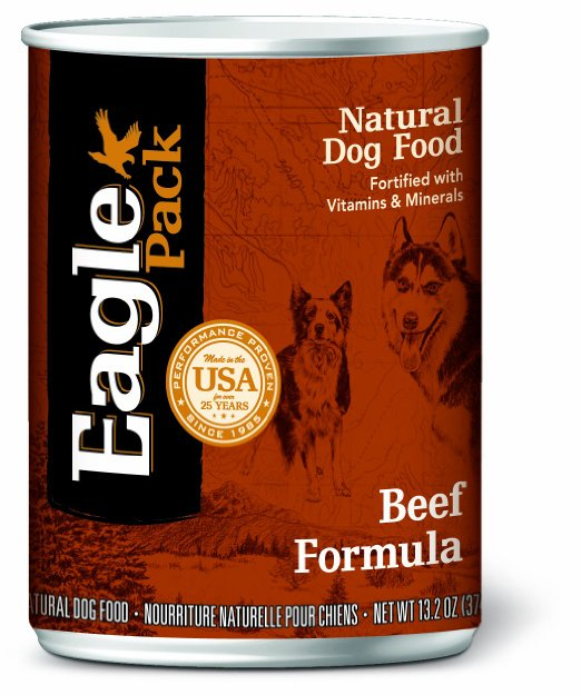 Eagle Pack Natural Beef Canned Dog Food