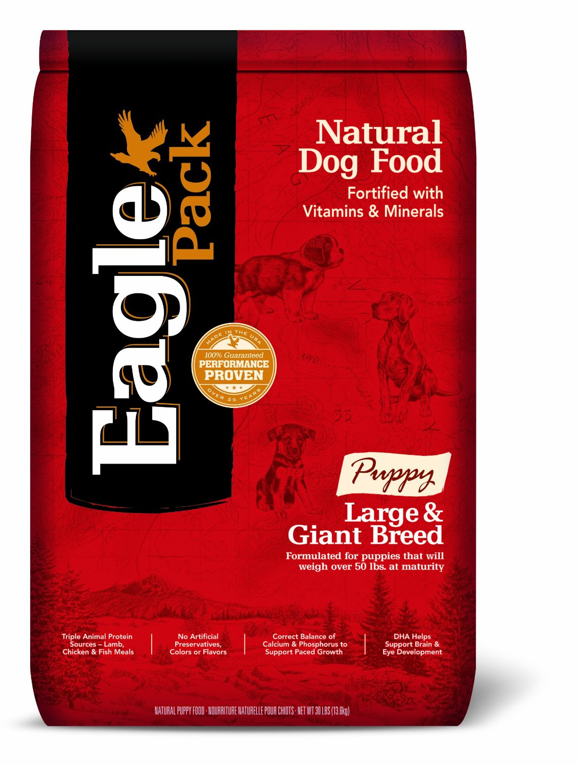 Eagle Pack Natural Dry Puppy Food