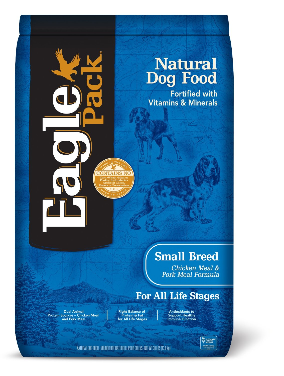 Eagle Pack Natural Small Breed Dry Puppy Food